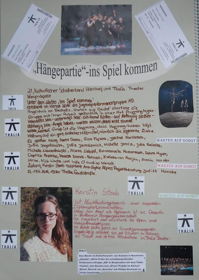 Plakat Hängepartie