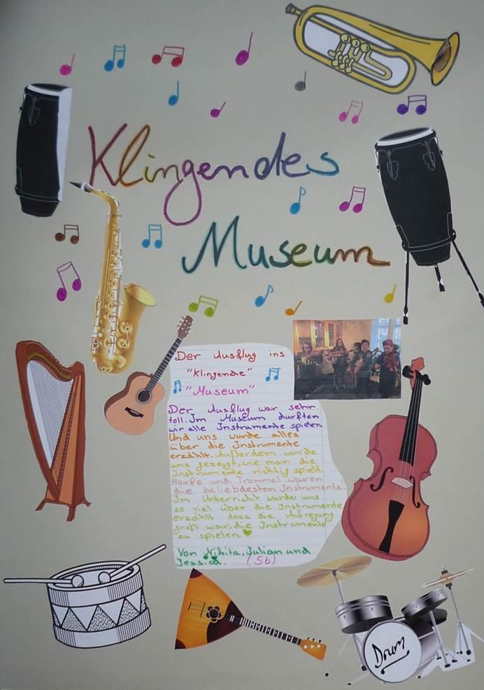 Plakat Klingendes Museum